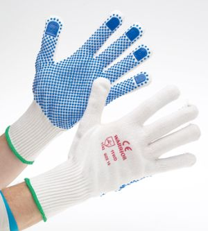 Knitted Dotted Glove