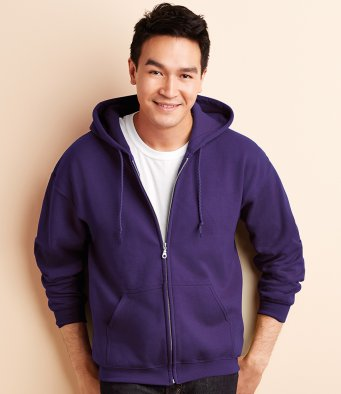 Gildan Heavy Zip Hooded Sweatshirt