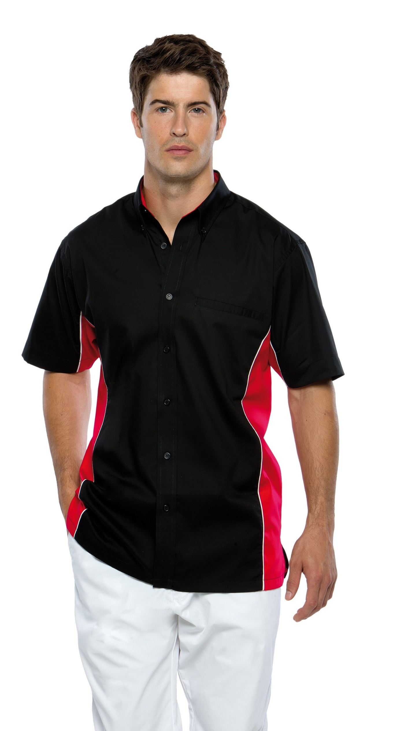 KK185 Kustom Kit Sportman Shirt Short Sleeve