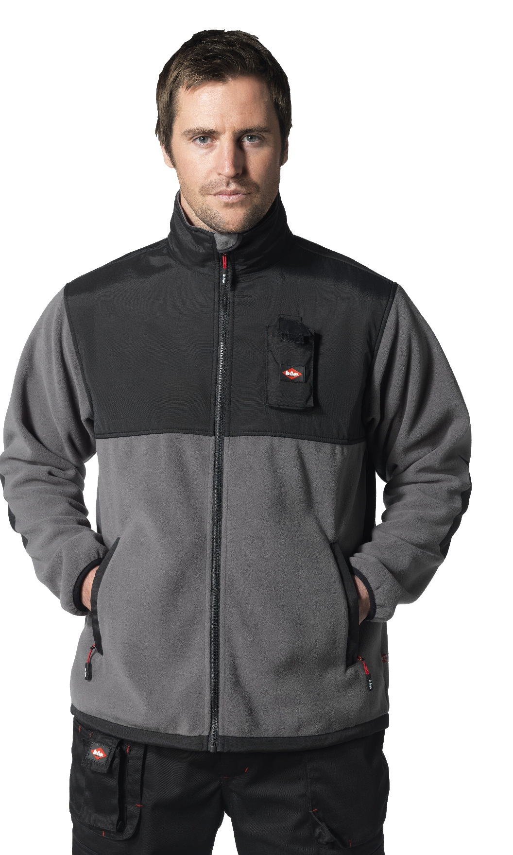 Lee Cooper Workwear Functional Polar Fleece Jacket