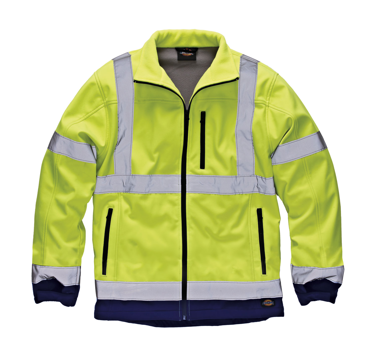 Dickies Hi-Vis Two Tone Soft Shell Jacket