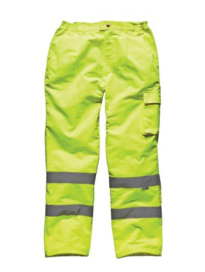 Dickies SA35015 Hi Vis Poly/Cotton Trousers