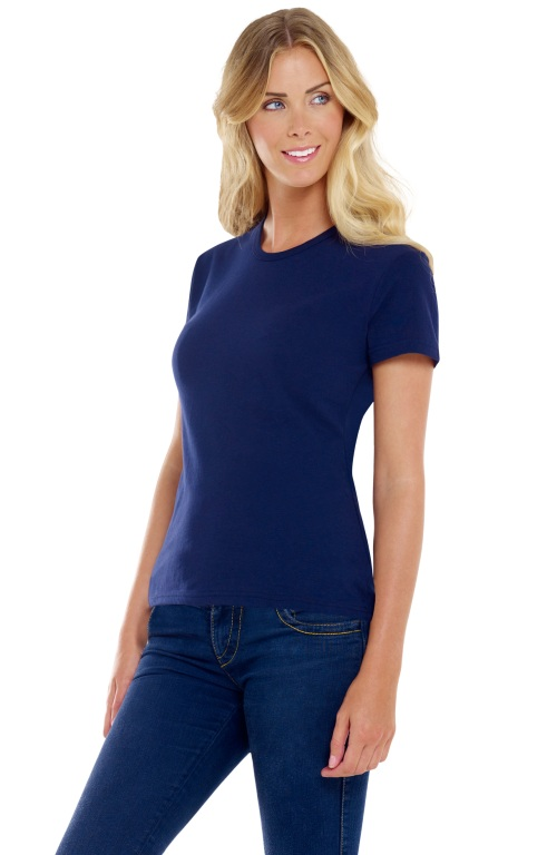 SW433 Starworld Lady-Fit C/Neck Cool T