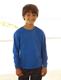 Fruit of the Loom Kids Long Sleeve Valueweight T