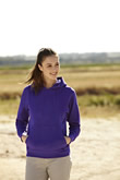 Fruit of the Loom Ladyfit Hooded Sweat