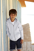 Fruit of the Loom Kids Zip Through Hooded Sweat