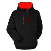 Papini Heavy Contrast Hooded Sweat