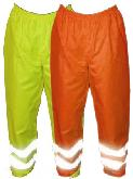 High Visibility Safety Waterproof Overtrousers