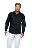 KK121 Kustom Kit Mens Bar Shirt Long Sleeve