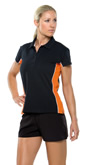 KK731 Kustom Kit Womens Track Polo