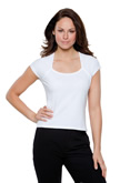 KK760 Kustom Kit Corporate Top Scoop Neck