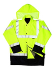 Proforce Hi Vis 2 Tone 4-in-1 Traffic Jacket