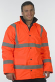 Hi Vis Safety Traffic Jacket