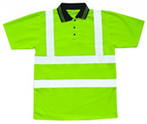 High Visibility Safety Polo Shirts